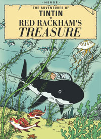 """The Adventures of Tintin: Red Rackham's Treasure"" cover"
