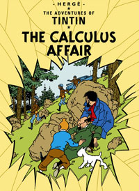 """The Adventures of Tintin: The Calculus Affair"" cover"